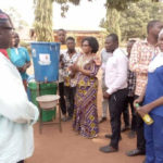 Coronavirus: Salaga South NDC candidate donates items to hospital