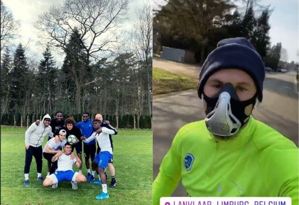 Joseph Paintsil and Genk teammates in specialised training over COVID-19 scare
