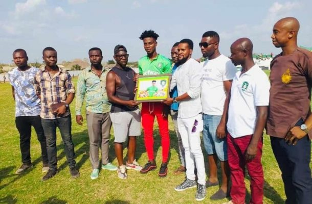 Caleb Amankwah named Aduana Stars player of the month for February