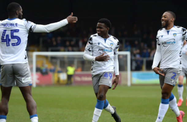 Ghanaian Prodigy Kwame Poku in the double for Colchester