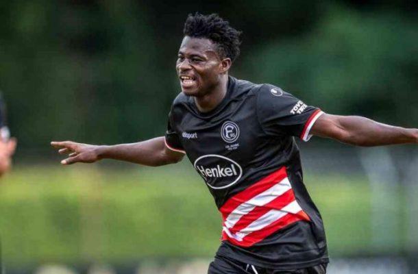 Young Kelvin Ofori makes Bundesliga bow for Duesseldorf