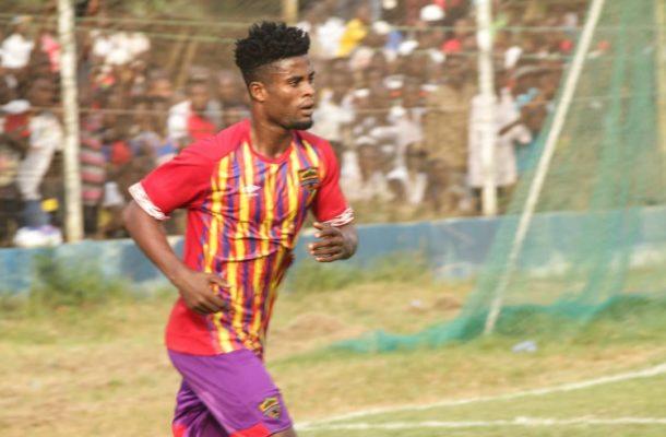 Daniel Afriyie grabs debut goal in Hearts Jersey