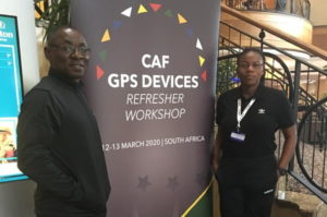 Coach Duncan in South Africa for CAF Workshop