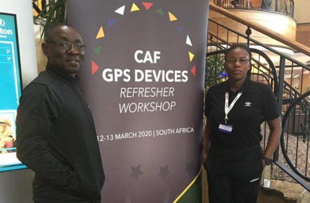 Coach Duncan in South Africa for CAF Workshop
