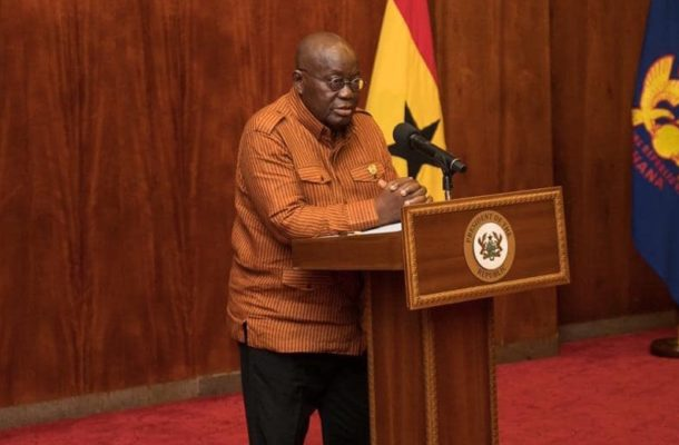 """""""COVID-19 presents Ghana with opportunity to increase manufacturing capacity'- President Akuffo-Addo"""