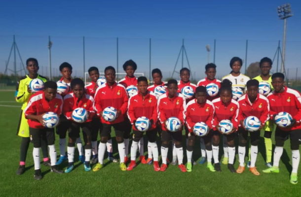 Royal Morocco Football Federation donates footballs to Black Princesses