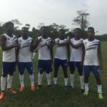 Nii Odartey Lamptey breaks camp with distribution of hand sanitizers to players