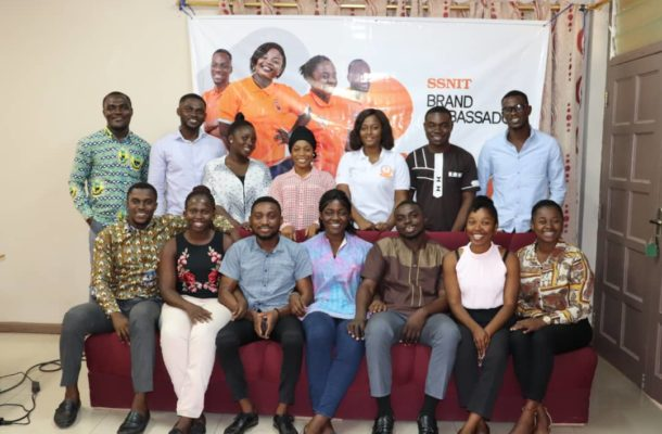 All you need to know about the SSNIT Brand Ambassadors Training held at UENR, Sunyani