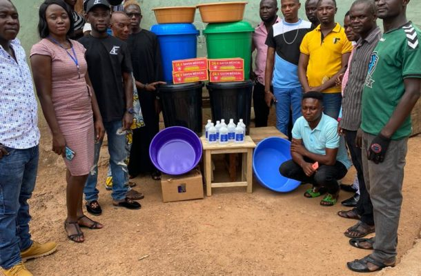 COVID19 Fight: A.Fordjour foundation donates to Ashanti Region amid pandemic