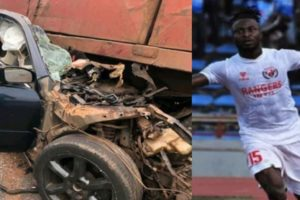 COVID-19: Nigerian Footballer Ifeanyi George dies in fatal car crash