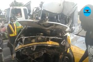 VIDEO: Driver dies in gory accident in Akweteman