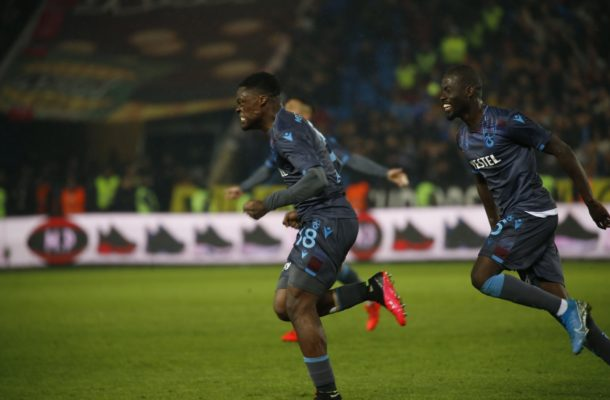 VIDEO: Caleb Ekuban scores in Trabzonspor's big win over Rizespor