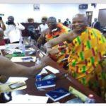 "Coronavirus: Chiefs in Ghana introduce new ""elbow-shaking"""