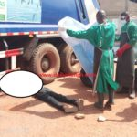 Garbage truck runs over man's head at Berekum hospital