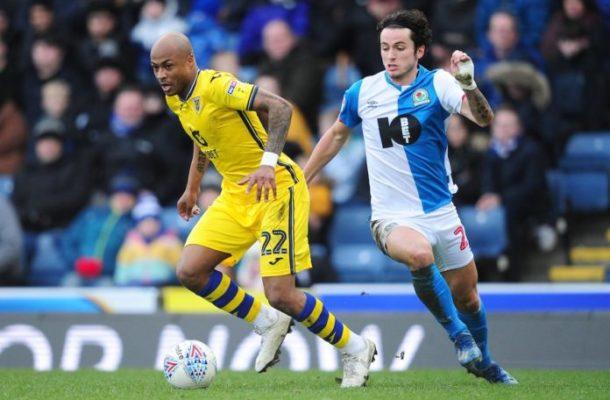 VIDEO: Watch Andre Ayew's goal for Swansea in Blackburn draw