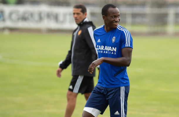 Raphael Dwamena to stage a come back following strategic routine exercise