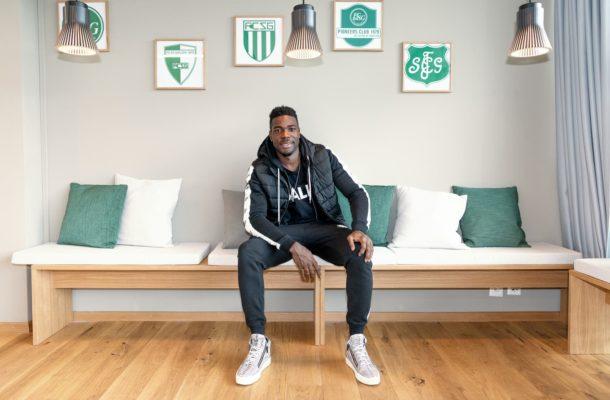 Goalkeeper Ati-Zigi recounts life without a dad