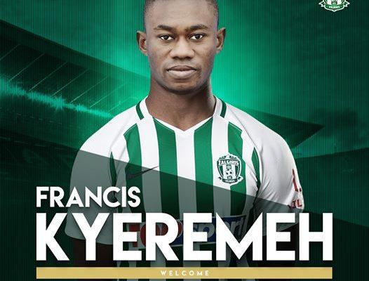 Francis Kyeremeh joins Lithuanian side Vinius Zalgiris