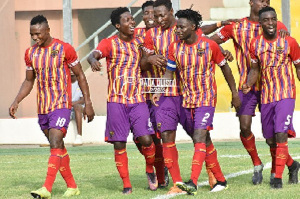 VIDEO: Watch all goals as Hearts of Oak draw with Elmina Sharks