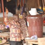 COVID-19: Simon Tetteh shares veronica buckets to market centers in Krobo