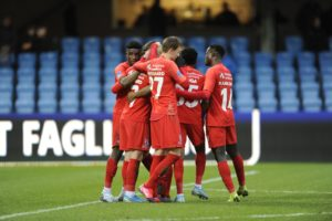 VIDEO: FC Nordsjaelland players on cloud nine after victory over Esbjerg
