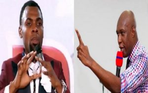 VIDEO: Come out and speak if you're not gay - Rev Obofour dares Prophet Oduro