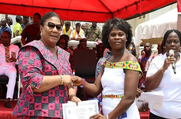 First Lady empowers 180 women as part of International Women's Month