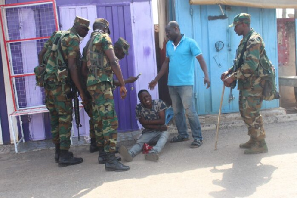 Recalcitrant Kumasi traders incur military wrath after defying orders
