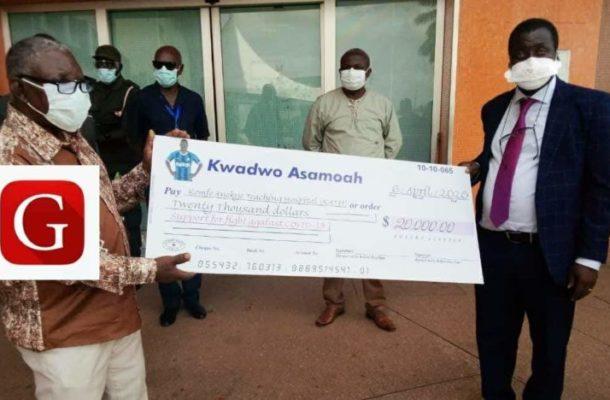 COVID-19: Kwadwo Asamoah donates $20K to Komfo Anokye Teaching Hospital