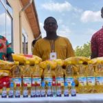 Mampong Central SDA Church supplies food items worth Thousands of Cedis to the Vulnerable in the Church
