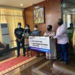 Karpowership Ghana donates 300,000 Cedis to COVID-19 National Trust Fund