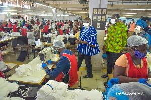 Local production of PPEs is a demonstration of govt's commitment to promote local industries - Bawumia