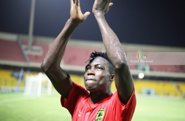 Midfielder Justice Blay desires to stay with Asante Kotoko