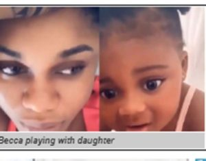 VIDEO: Becca unveils daughter's face