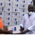 Deputy CEO of Exim Bank donates 4800 Hand Sanitizers to fight COVID-19