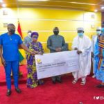 Muslim Community Donates 130,000 Cedis to COVID-19 National Trust Fund