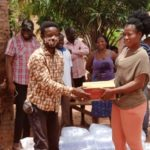 COVID-19: NDC Parliamentary candidate donates relief items to the vulnerable