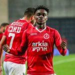 Emmanuel Boateng and his teammates at Hapoel Tel Aviv refused permission to train