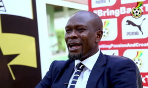 C K Akonnor shows appreciation to former Black Stars players for their support