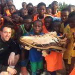 Scottish coach Mark Holmes visits his academy in Atwima Koforidua