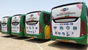 COVID-19: Citi TV cancels free bus for health workers