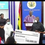 COVID-19: BetWay Ghana supports government's fight against coronavirus