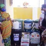 Lady Gee Foundation donates to Ningo Prampram amid COVID-19