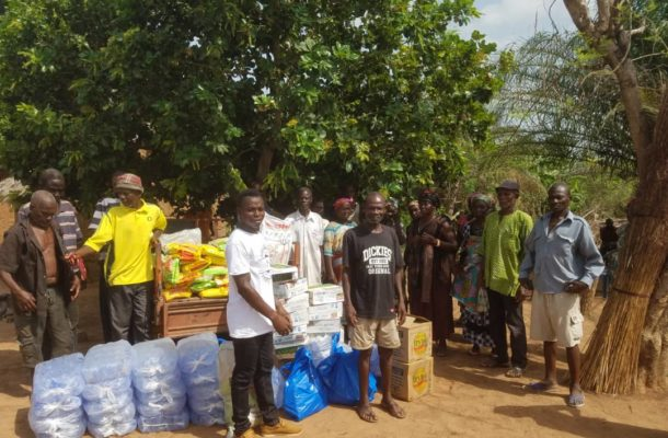 N/R: 'Soles of Hope' donates food items to Nkenchina community