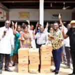 COVID-19: Kwaku Oteng donates items worth GHS800k to hospitals, orphanages