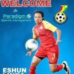 Black Queens defender Linda Eshun sign for Paradigm Sports Management