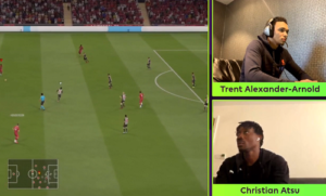 VIDEO: Christian Atsu dumped out of ePL Invitational by Alexander Arnold
