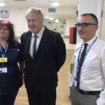 Hospital matron who posed with Boris Johnson for picture dies to COVID-19