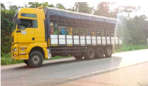 Two cargo vehicles with coronavirus passengers intercepted in Oti Region