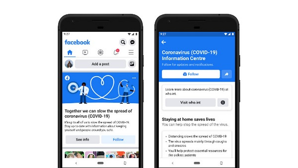 Facebook launches Coronavirus Information Centre in Ghana